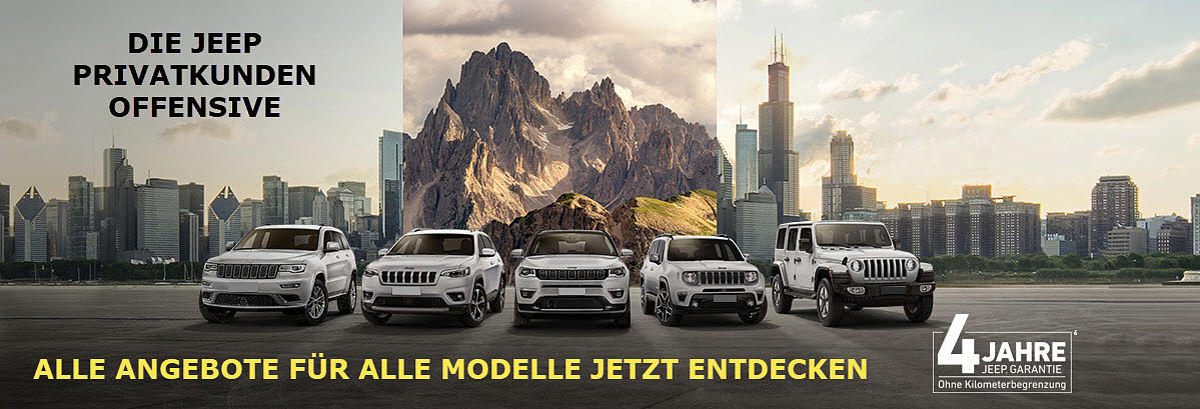 Jeep Privatangebot Q3